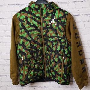 Boys Jordan camo print jacket